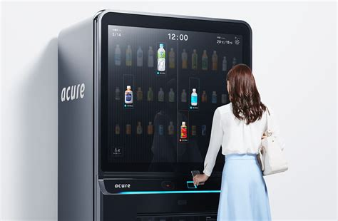 Two New Vending Machines: High-tech Cashless Versus Old