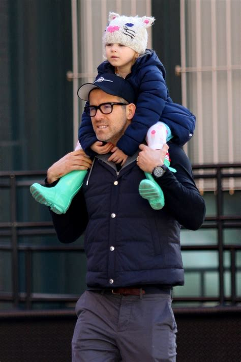 Ryan Reynolds and Daughter Make an Adorable Pair in New