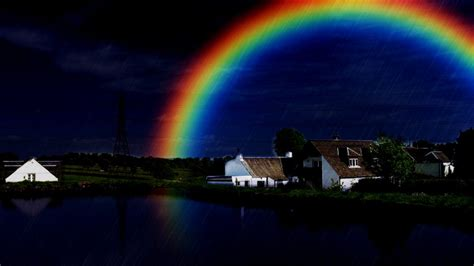 The Real Rainbow is a Promise from God