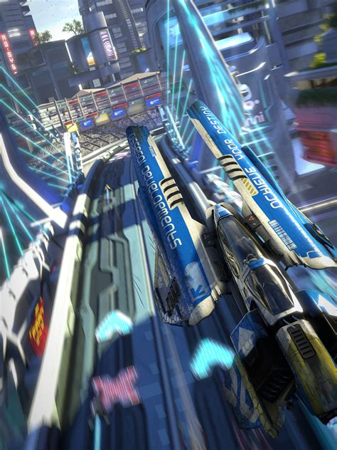 Wipeout: Omega Collection Gets Stunning Images via Dead