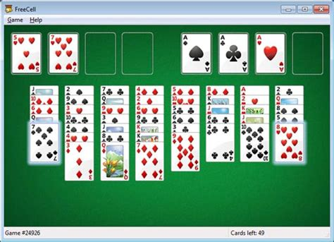 Windows Games - Minesweeper, Solitaire, Freecell, etc